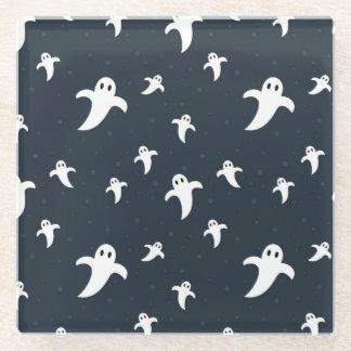 Posavasos De Vidrio Fantasmas blancos lindos