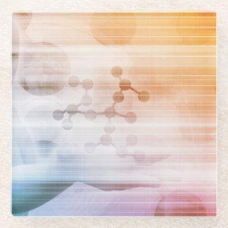 Posavasos De Vidrio Investigación y desarrollo con el doctor Viewing