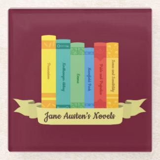 Posavasos De Vidrio Las novelas de Jane Austen III