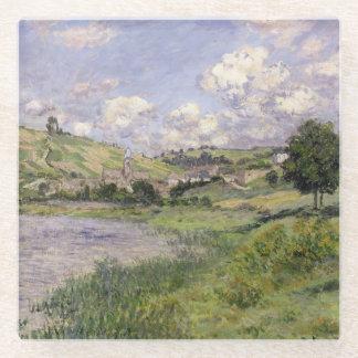 Posavasos De Vidrio Paisaje de Claude Monet el |, Vetheuil, 1879