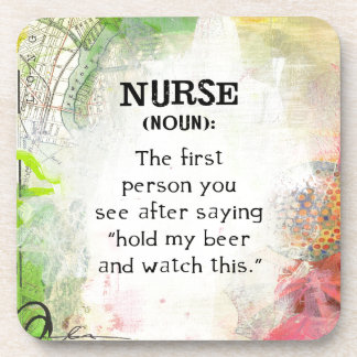 Posavasos Definición de una enfermera