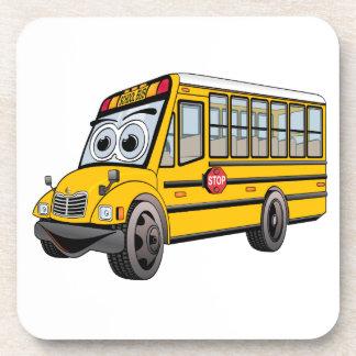 Posavasos Dibujo animado 2017 del autobús escolar