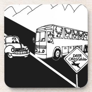 Posavasos Dibujo animado 3251 del autobús