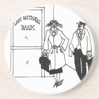 Posavasos Dibujo animado 3328 del banco