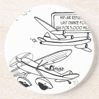 Posavasos Dibujo animado 3682 del vuelo