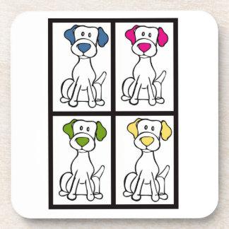 Posavasos Dibujo lindo del perro - Labrador