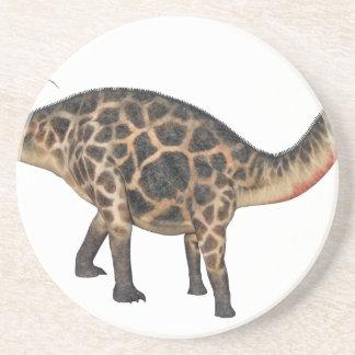 Posavasos Dicraeosaurus en perfil lateral