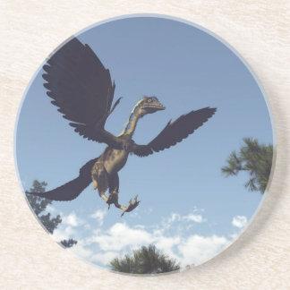 Posavasos Dinosaurios de los pájaros del Archaeopteryx que