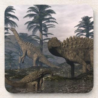 Posavasos Dinosaurios del Ampelosaurus