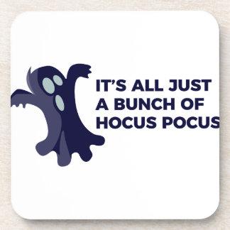 Posavasos Diseño de Halloween del abucheo del fantasma de la