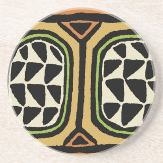 Posavasos Diseño de la materia textil de Kuba del africano