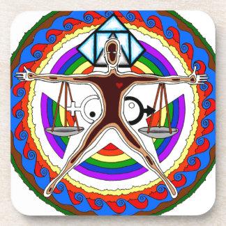 Posavasos Diseño del escudo