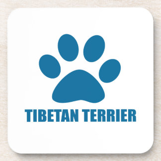 POSAVASOS DISEÑOS DEL PERRO DE TERRIER TIBETANO