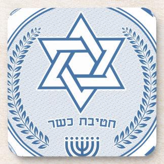 Posavasos División kosher