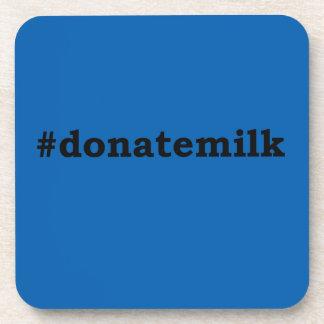 Posavasos #donatemilk