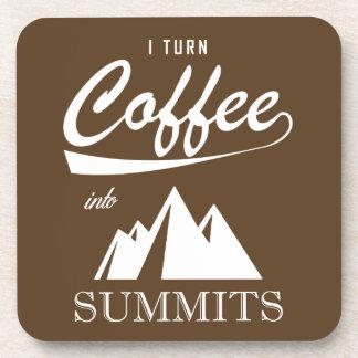 Posavasos Doy vuelta al café en cumbres