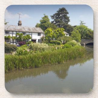 Posavasos Eardisland en foto del recuerdo de Herefordshire