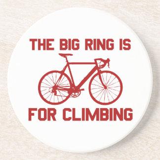 Posavasos El anillo grande está para subir
