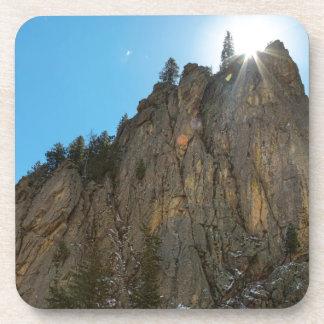 Posavasos El barranco de Boulder estrecha el pináculo