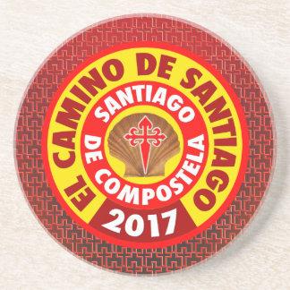 Posavasos EL Camino de Santiago 2017