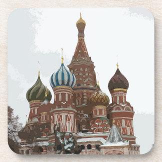 Posavasos El cathedral_russo de la albahaca del santo