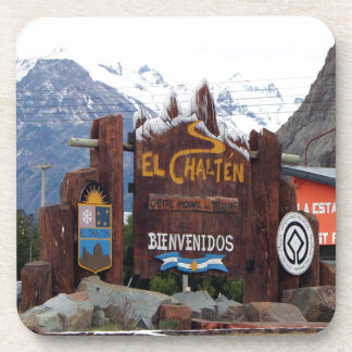 Posavasos EL Chalten, Patagonia, la Argentina