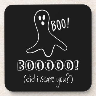 Posavasos El fantasma que decía abucheo hizo yo le asusta