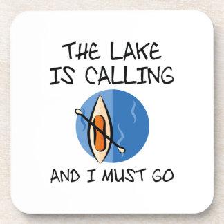 Posavasos El lago está llamando