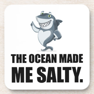 Posavasos El océano me hizo el tiburón salado