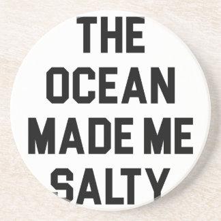 Posavasos El océano me hizo salado