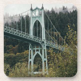 Posavasos El puente de San Juan en Portland