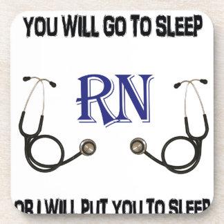 Posavasos El RN va a dormir