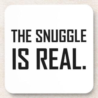 Posavasos El Snuggle es real