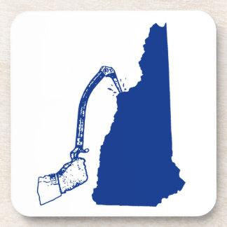 Posavasos El subir del hielo de New Hampshire