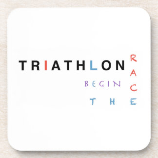 Posavasos El Triathlon dejó la raza comenzar