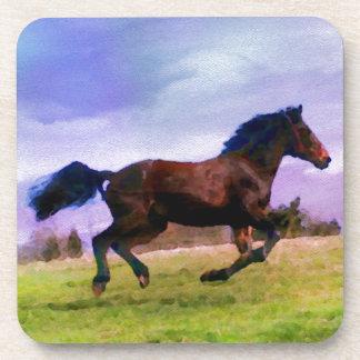 Posavasos Equestrian occidental de funcionamiento del potro