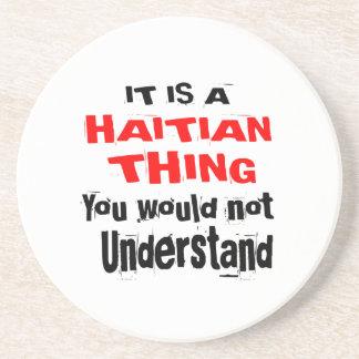 POSAVASOS ES DISEÑOS HAITIANOS DE LA COSA