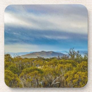 Posavasos Escena patagona del paisaje, Santa Cruz, la