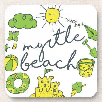 Posavasos Escritura de Myrtle Beach
