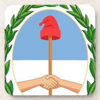 Posavasos Escudo de la Argentina - escudo de armas de la