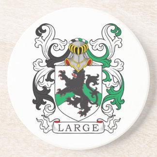 Posavasos Escudo de la familia grande (irlandés)