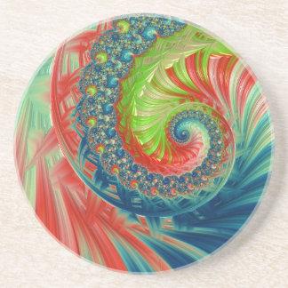 Posavasos Espiral brillante