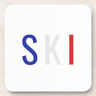Posavasos Esquí