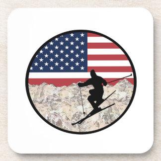 Posavasos Esquí América