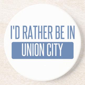 Posavasos Estaría bastante en la ciudad CA de la unión