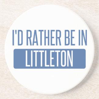 Posavasos Estaría bastante en Littleton