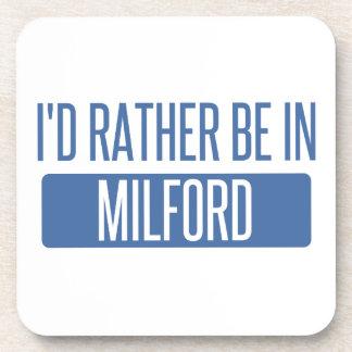 Posavasos Estaría bastante en Milford