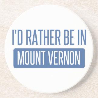 Posavasos Estaría bastante en Mount Vernon