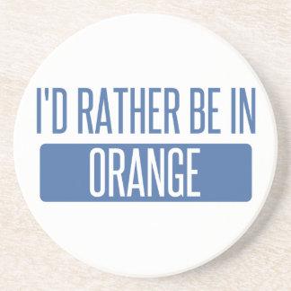 Posavasos Estaría bastante en naranja