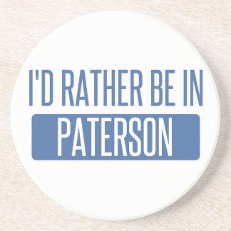 Posavasos Estaría bastante en Paterson